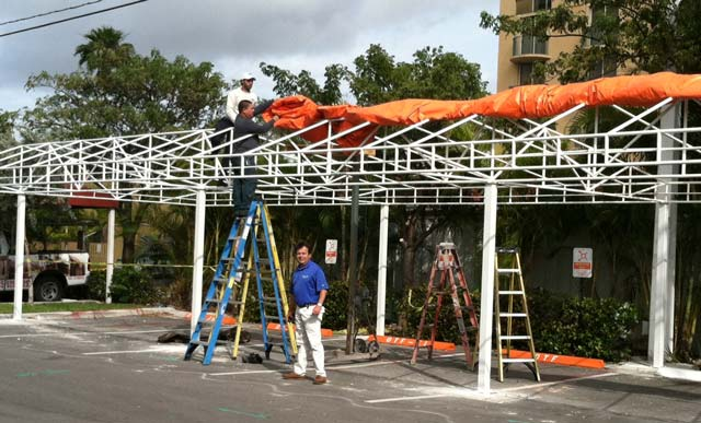 Parking Awning Garage Carport
