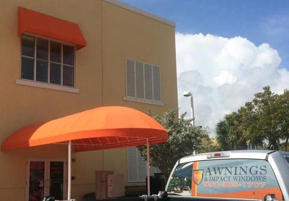 Awnings and canopies plantation florida