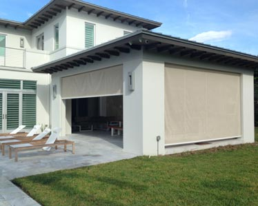 Residential awnings Miami